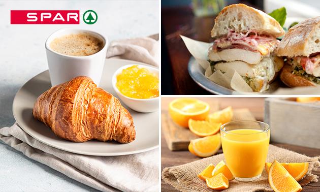 Afhalen: ontbijt bij Spar Arnhem