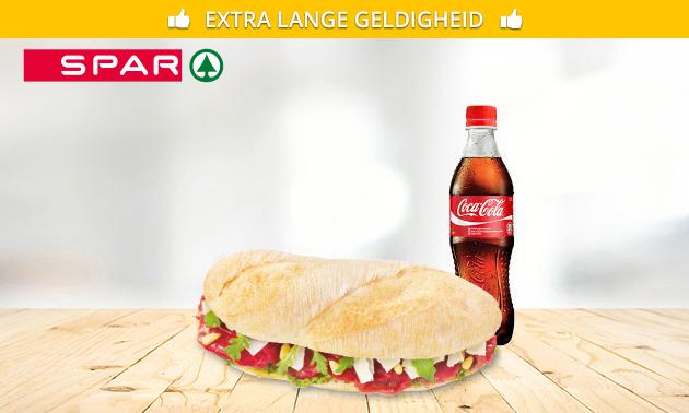 Afhalen: broodje + frisdrank bij Spar City Deventer