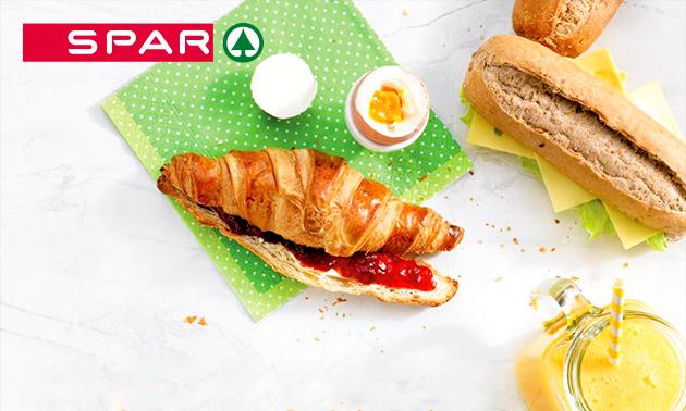 Afhalen: ontbijt bij Spar City in hartje Leeuwarden