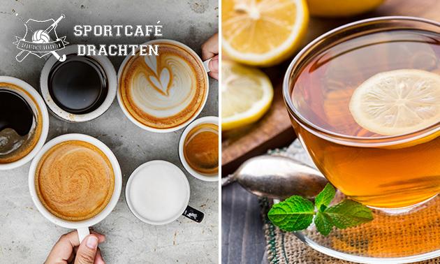 Strippenkaart voor 5x of 10x koffie/thee to go