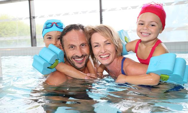 Entree tot zwembad