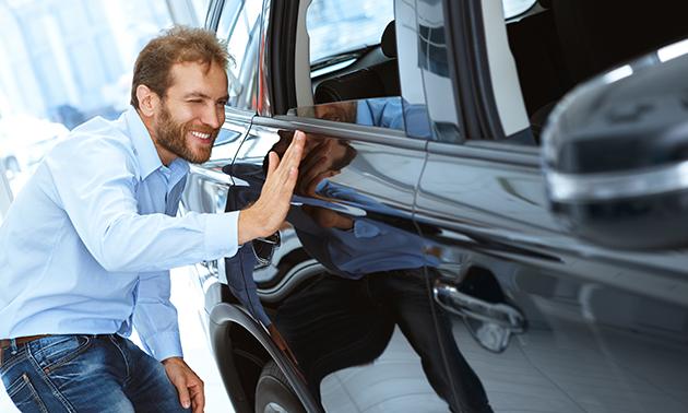 Reparatie van kleine beschadiging aan je auto