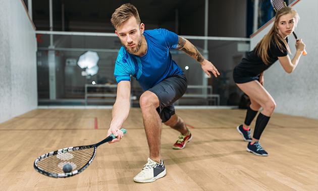 Huur squashbaan