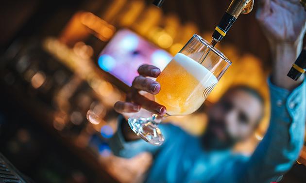 Bierproeverij + hapjes