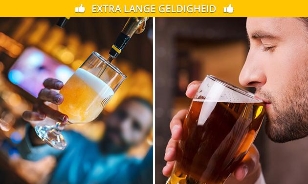 Bierproeverij bij Stadscafé In den Grooten Slock