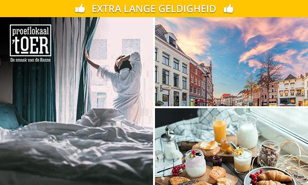 Overnachting + ontbijt in Zutphen voor 2