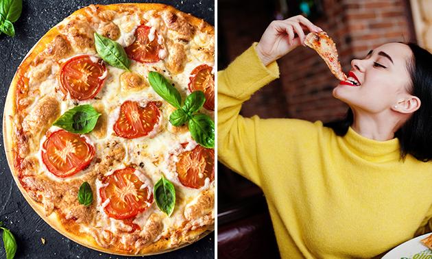 Afhalen: pizza of (oven)pasta naar keuze + frisdrank