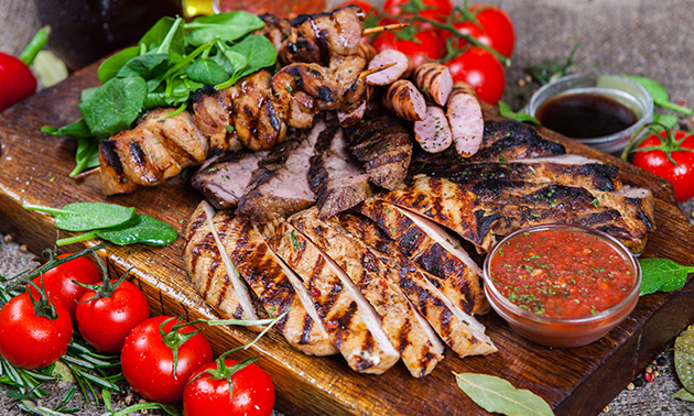 Luxe mixed grill bij Steakhouse Marina