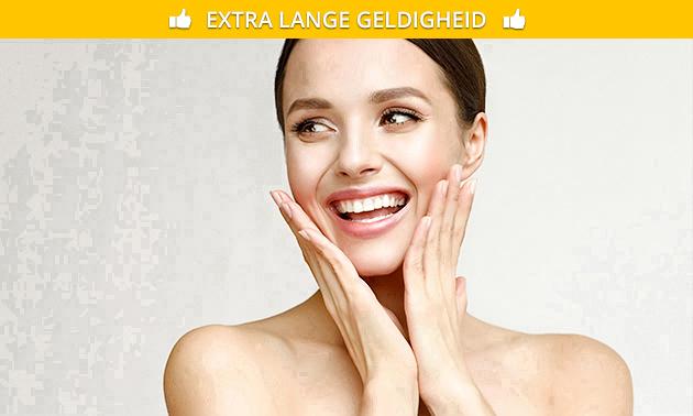 Huidverjongende gezichtsbehandeling (60 of 90 min)