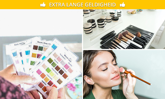 Workshop 'Make-up & kleur' + koffie/thee en lekkernij
