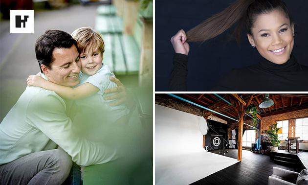 Fotoshoot voor 1 tot 10 personen + 2 afdrukken