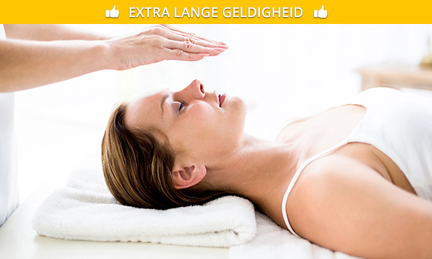 Wellnessarrangement + reiki (60 minuten)
