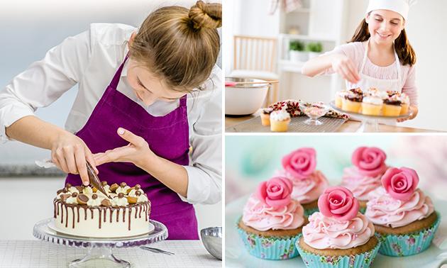 Workshop cupcakes of taart maken (2,5 uur)