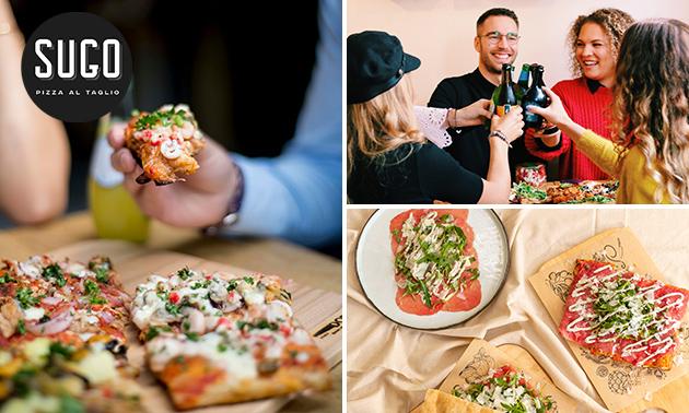 Italiaans 2-gangendiner bij SUGO Pizza al Taglio