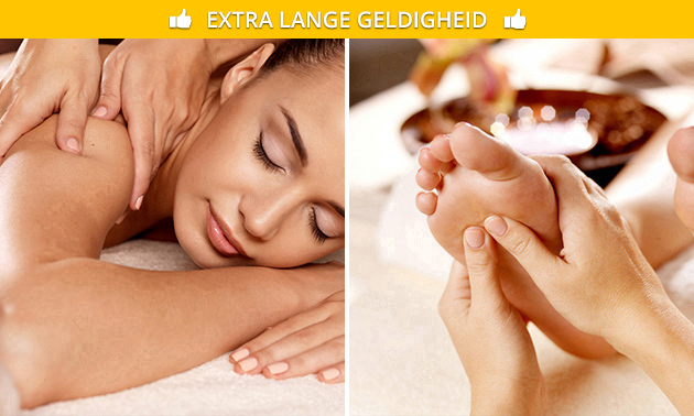 Voetreflexmassage of ontspanningsmassage