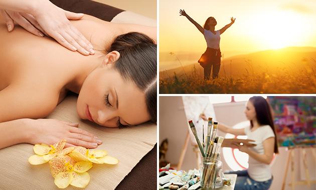 Workshop schilderen of energetische massage