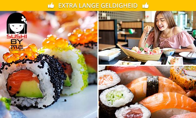Afhalen: sushibox (44 stuks) voor 2 bij Sushi By Me
