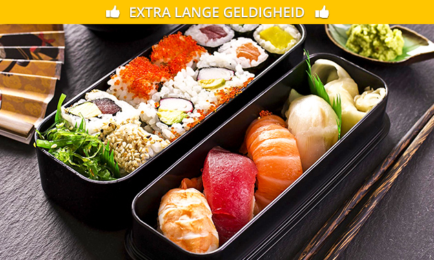 Afhalen: sushibox (22 of 61 stuks) van Sushi Call