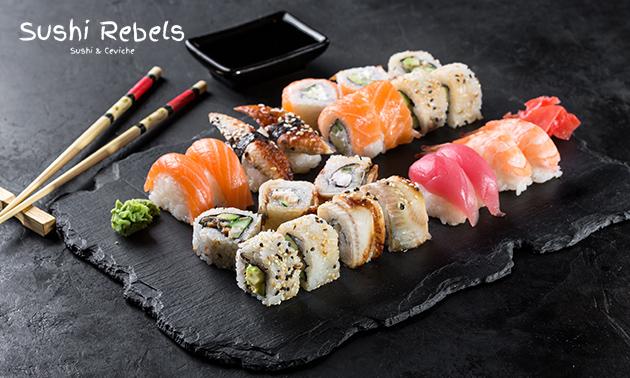 Afhalen: sushibox (24 of 40 stuks)