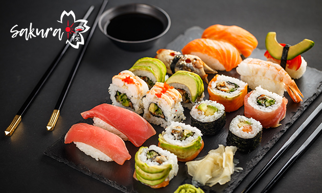 All-You-Can-Eat sushi (3 uur) in hartje Maastricht