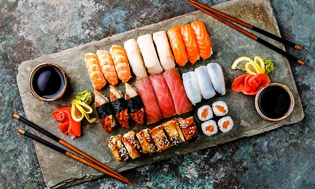 Afhalen: sushi (20, 24 of 48 stuks) bij Sushi Rothem