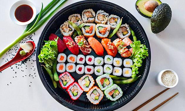 Sushibox (20, 24, 40 of 52 stuks) van Sushi Time