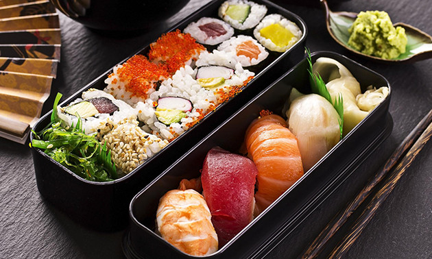 Take-away sushibox (42, 84 of 126 stuks)