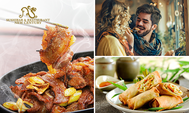 All-You-Can-Eat & Drink (3 uur) bij New Century