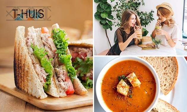Lunchproeverij bij T-HUIS Eten & Drinken