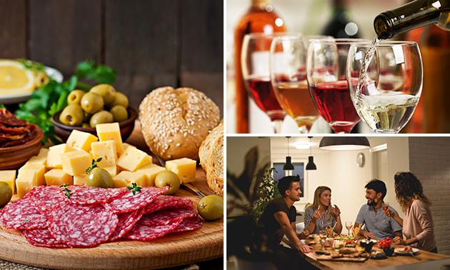 Afhalen: luxe borrelplank + wijn