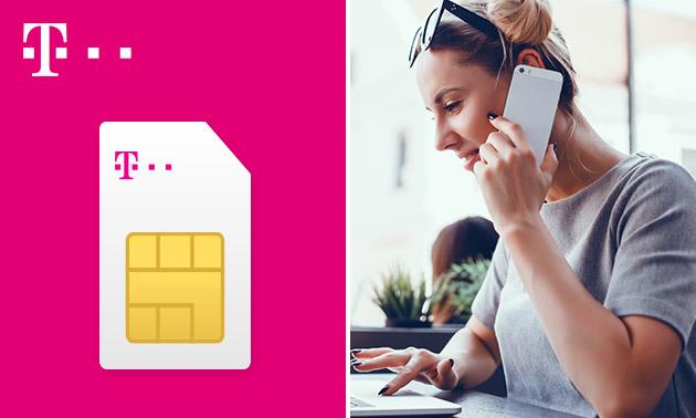 €15 tegoed te besteden op data, sms en belminuten