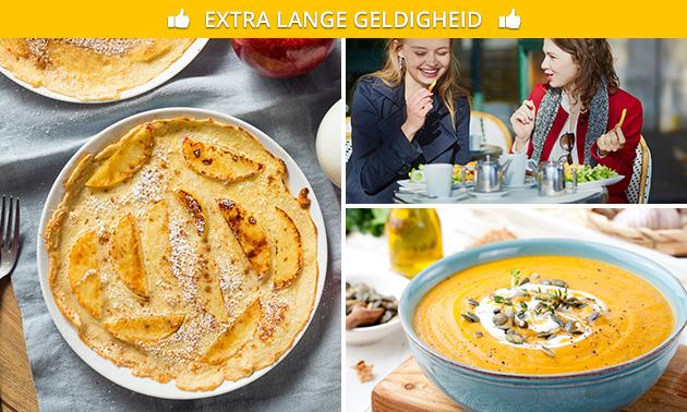 All-You-Can-Eat pannenkoeken + soep vooraf