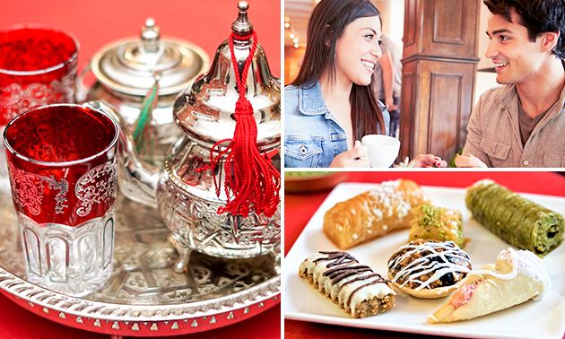 Arabische high tea bij Tajine