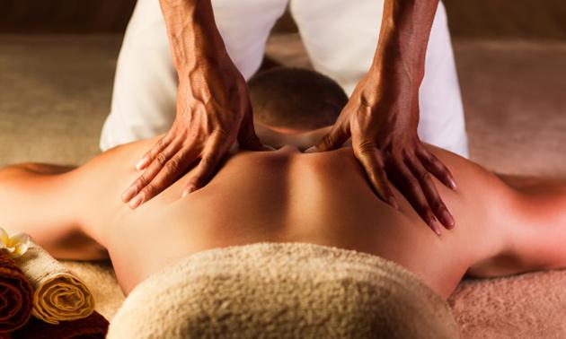 Ontspannende massage (45 of 60 minuten)
