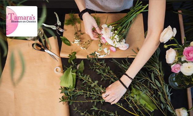 Workshop bloemschikken (2,5 uur)