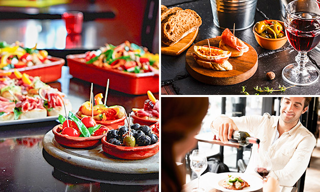 All-You-Can-Eat tapas (2,5 uur) bij TapaTapa