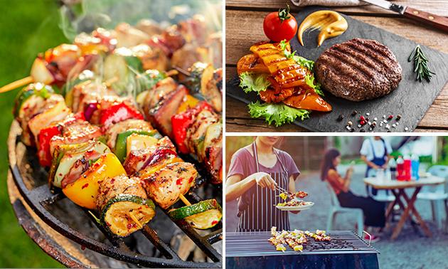 Thuisbezorgd of afhalen: luxe BBQ-pakket