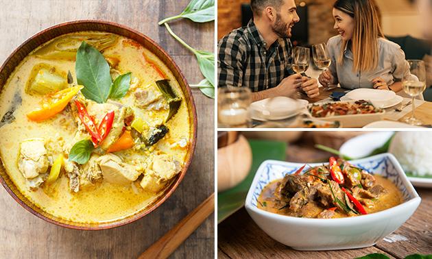 Afhalen: Thais menu