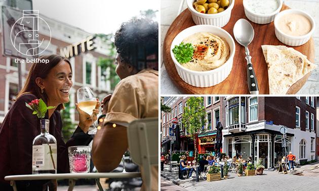 Borrelplank + bier of wijn in hartje Rotterdam