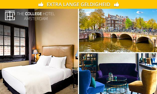 Overnachting + ontbijt voor 2 in Amsterdam Oud-Zuid
