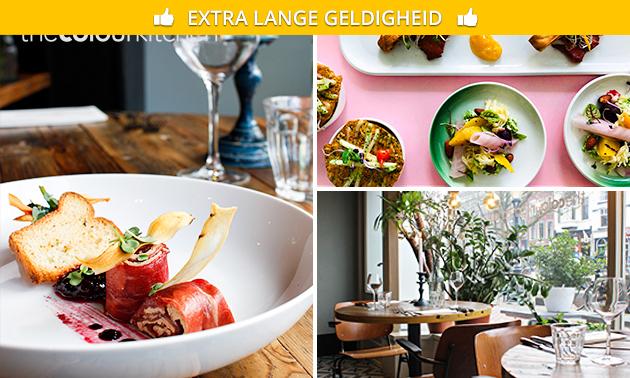 3-gangen proeverijdiner bij The Colour Kitchen Oudegracht