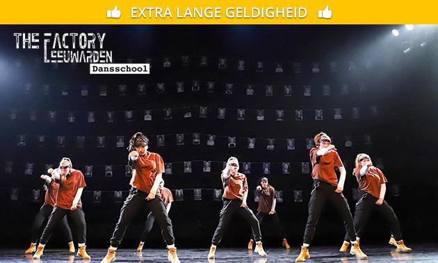 8 danslessen naar keuze