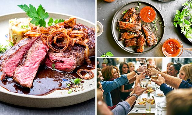 3-gangen shared dining-diner in hartje Emmen