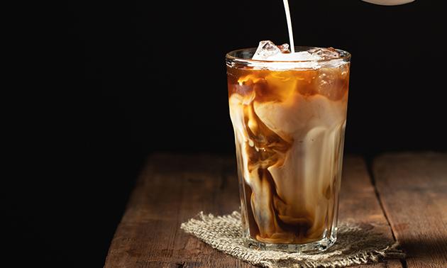 Strippenkaart voor 5 koppen (ijs)koffie