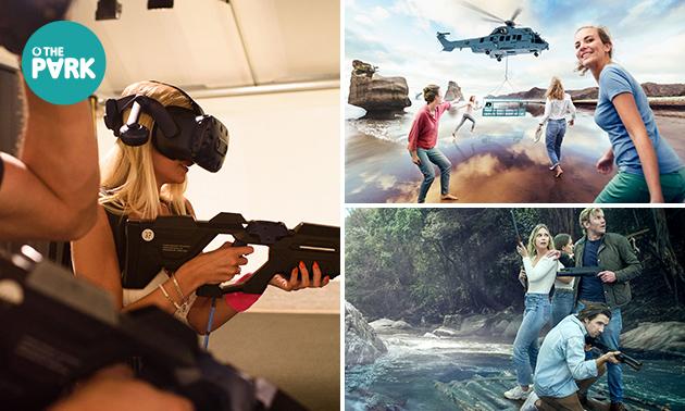 VR experience (1 uur) voor 2-6 personen
