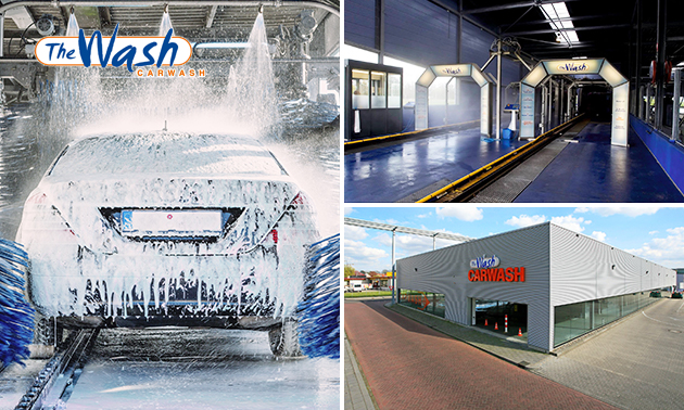 Autowasbeurt bij The Wash Carwash
