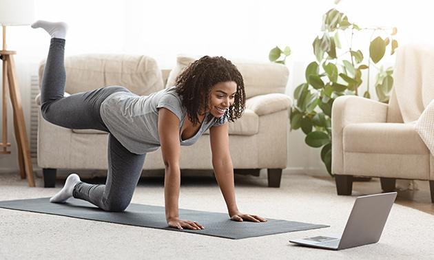 Online beginnerscursus yoga óf 3 maanden onbeperkt lessen