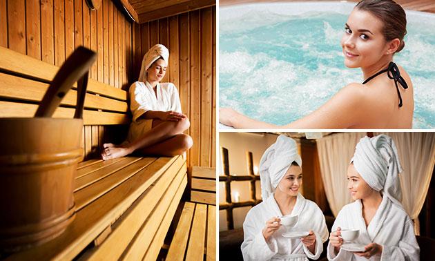 Entree voor de sauna (1 of 2 personen)