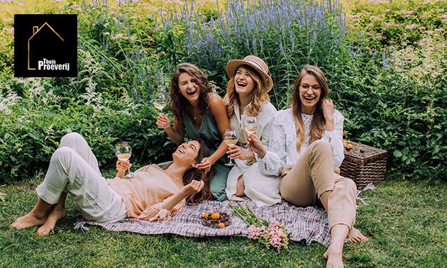 Wijnproeverij aan huis voor 4, 6 of 8 personen (2 uur)
