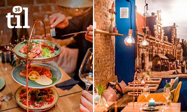 4-gangen shared dining bij Til38 in hartje Alkmaar